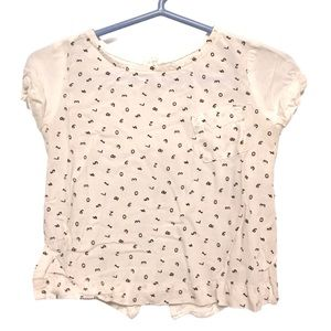 Old Navy numbers blouse